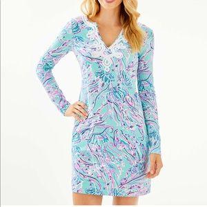 Lilly Pulitzer LONG SLEEVE HARPER SHIFT DRESS